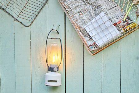 led lantern speaker beach house